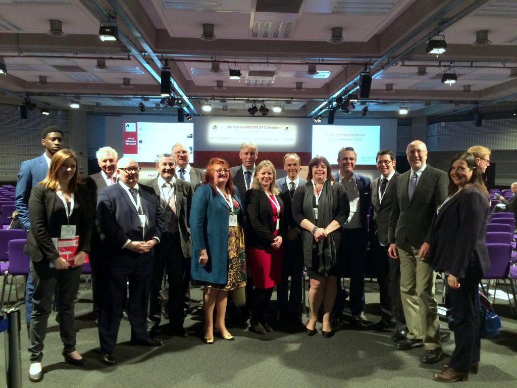 The Suffolk delegation