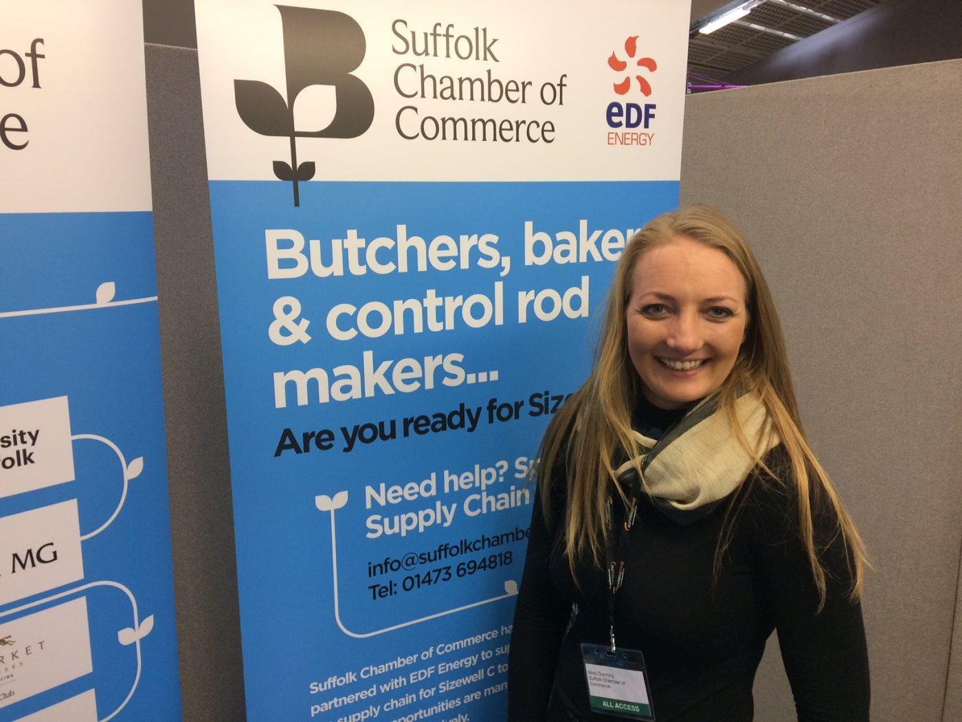 Nicci Dunning - Suffolk Chamber Business Development Officer
