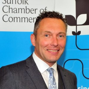 John Dugmore, Chief executive of Suffolk Chamber of Commerce