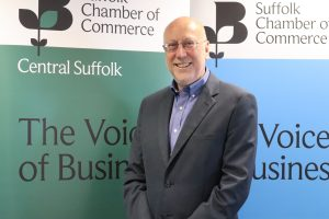 Dr Peter Funnel. Photo: Suffolk Chamber