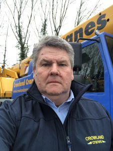 Rob Smith, business development manager at Crowland Cranes
