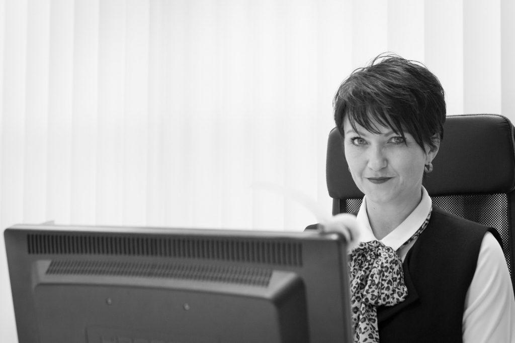 Michelle Pollard of Spider Recruitment and  Chair of Suffolk Business Women